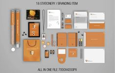 Stationery Branding Mockups designed by Kenoric