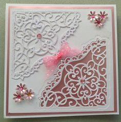 made from heartfelt creations decorate blossom corner  www.delabur.co.uk