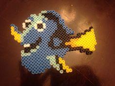 Dory from Finding Nemo perler bead