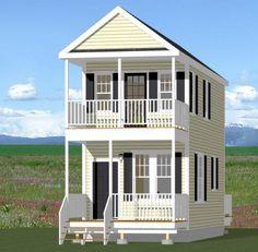 12x28 House -- #12X28H3 -- 589 sq ft - Excellent Floor Plans