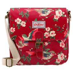 Cath Kidston Oilcloth Mini Satchel Bag Crossbody British Birds Berry Red * You can find out more details at the link of the image. (This is an affiliate link) Cath Kidston London, Cath Kidston Bags, Diy Bags Purses, Floral Bags, Mini Handbags, My Bags, Messenger Bag, Crossbody Bag, Satchel Bag