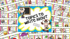 Teaching With Love and Laughter: 72 Writing Topics Cards