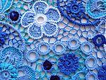 В синем море, в белой пене. Платье, связанное ирландским кружевом. Обсуждение на LiveInternet - Российский Сервис Онлайн-Дневников