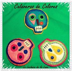 Calaveras de Colores - 7'50€