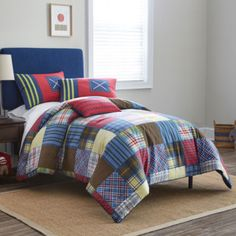 Frank and Lulu Preppy Plaid Comforter & Accessories  found at @JCPenney