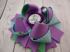 Paw Patrol - paw patrol everest - Paw Patrol Birthday - Over the Top Bow - Paw Patrol party - Girls Hair Bows