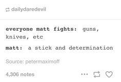 Matt Murdock everyone