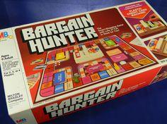 Vintage Board Game.Bargain Hunter.Shopping Game.1981.SALE