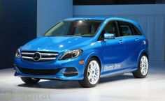 Mercedes-Benz Debuts 2014 B-Class Electric Drive at the New York Auto Show!