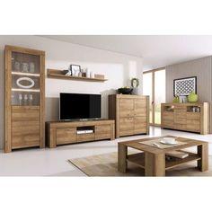 Obývací sestava SETON bez LED, dub riviera Led, Living Room, Country, Furniture, Home Decor, Decoration Home, Rural Area, Room Decor, Sitting Rooms