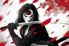 A superb samurai, she uses her deadly sword, The Soultaker, to fight evil around the world. The mystic sword contains the soul of every person killed by it and Katana can communicate with those souls. She is currently a member of the Suicide Squad. Katana, Comic Book Characters, Comic Character, Comic Books, Female Characters, Dc Comics Art, Marvel Dc Comics, Tatsu Yamashiro, Dc Batgirl
