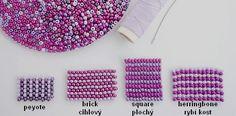 Návod na to, jak si udělat hezké šité šperky Beading Tutorials, Beading Patterns, Beads, Blog, Beadwork, Jewelry, Beading, Bead Patterns, Jewlery