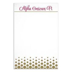 Super cute for writing notes during chapter meetings or for letters to sisters!  This gold stationary is a must have!