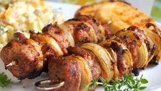 vepřové maso | Vaření s Tomem Tandoori Chicken, Sausage, Food And Drink, Cooking Recipes, Meat, Ethnic Recipes, Cooking, Sausages