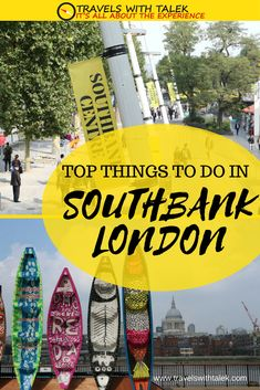 The cultural heart of London is South Bank London.  Read about what to do here. #londontravel