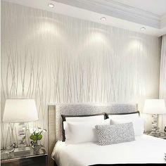 solid vertical 3d wall stripe non bedroom modern woven paper living aliexpress decor camera da decoration letto parati carta mobile