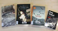 -El VI FA SANG – Del  29 de març  al 5 d'abril 2017 a la BCUM:  Aritzeta i Abad, M. La maleta sarda. Barcelona: Columna, 2010.  http://cataleg.upc.edu/record=b1373548~S1*cat. Coll, P. Dos taüts negres i dos de blancs. Barcelona: Proa, 2015. http://cataleg.upc.edu/record=b1434948~S1*cat. Benavente, J. Llums a la costa. Barcelona: Columna, 2007. http://cataleg.upc.edu/record=b1311056~S1*cat. Vidal, P. Aigua bruta. Barcelona: Empúries, 2010. http://cataleg.upc.edu/record=b1373952~S1*cat.