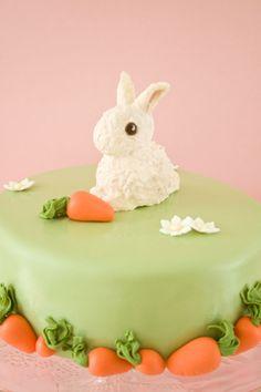 Bunny birthday cake 1