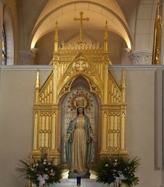 Our Lady of the Angels Shrine of the Most Blessed Sacrament in Hanceville, Alabama