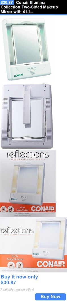 Makeup Mirrors: Conair Illumina Collection Two-Sided Makeup Mirror With 4 Light Settings BUY IT NOW ONLY: $30.87
