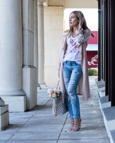 The Fashionable Accountant | THE PERFECT BLUSH TRENCH  Rose All Day from T&J Designs