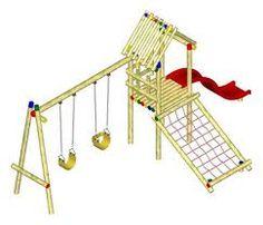 Juegos infantiles plays | Casas madera cabanas juegos infantiles ...
