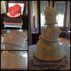 Elegant whimsical cake.
