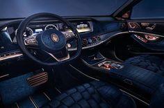 Interieur als Wohlfühloase Mercedes-Maybach S600
