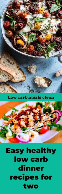 Easy healthy low carb dinner recipes for two. Low carb eating habits approaches for results! You need to exercise and eat correctly to have a good lifestyle, but there is however more to good nutrition than meets the attention. Carb Free Diet Plan, Low Carb Vegetables, Food Swap, Low Carb Dinner Recipes, Meals For Two, No Carb Diets, Eating Habits, Nutrition, Exercise