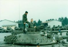 French Army AMX-30 tanks in 1980's.