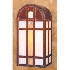 "Arroyo Craftsman Yorktown 1 Light Outdoor Flush Mount Size: 14.5"" H x 7"" W x 5.75"" D, Finish: Antique Copper"