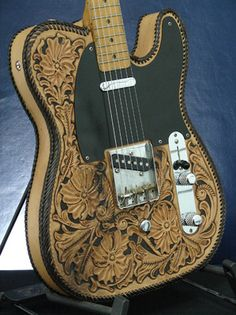 Fender Telecaster B-Bender Custom Shop '57 Texas Special RARE Leather...give me a hell yeah!