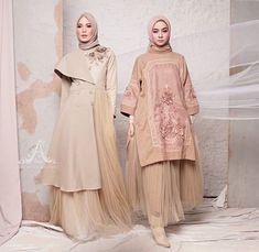 Dress Brokat Muslim, Muslim Dress, Kebaya Dress, Dress Pesta, Abaya Fashion, Modest Fashion, Fashion Dresses, Baju India Muslim, Moslem Fashion