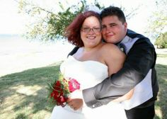#bride #wedding #love Rachel is such a beautiful plus size bride