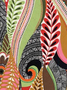Alexander Henry FABRIC - Masai Swirl - Bright