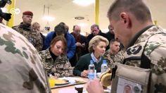 Dez 2013: von der Leyen besucht Truppe in Afghanistan