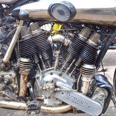 Brough Superior motorcycle engine