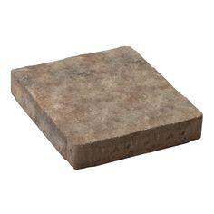 Decor 12-in Square Domino Slab Patio Stone | Lowe's Canada