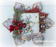 Dutch Doobadoo Shape Art ijskristal