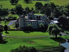 Dromoland Castle in Ireland is on the itinerary