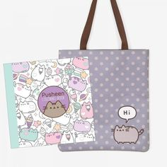Gift Guide for Cat Ladies and Their Cats - Pusheen Pusheen Love, Kawaii Bags, Sanrio Characters, Cute Outfits For Kids, Cat Lady, Gain, Gift Guide, Coloring Books, Hello Kitty