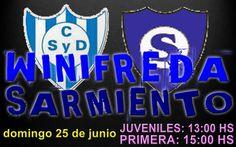 El Deportivo Winifreda recibe este domingo al Club Sarmiento