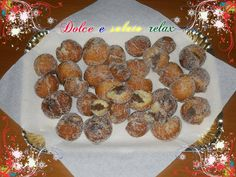 CASTAGNOLE CON NUTELLA <3 #dolceesalatorelax #lemaddine #madeinfacebook #cook #homemade #carnevale #cookies