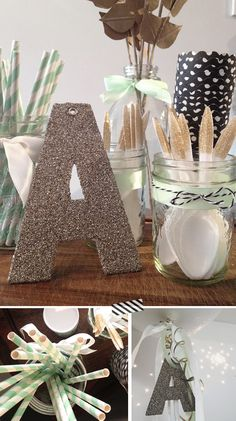 Mint Themed Birthday party via Little Lessy