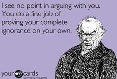 I wont argue