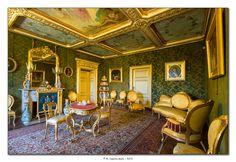 Piemonte, La Mandria - Appartamenti Reali - Salotto verde