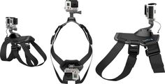 Simple And Double GoPro Fetch Dog Harness - Top, Side And Front View http://coolpile.com/gear-magazine/record-fidos-whereabouts-gopro-fetch-dog-harness via coolpile.com by @GoPro  #BePrepared #Gifts #GoPro #Pets #Safety #coolpile