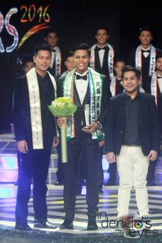 Misters of Filipinas 2016 - Mister Asian winner Vincent Jarina from Negros Occidental with Mister Asia Philippines 2014 Christian Mark Galang and Alper Morales from PEPPs.