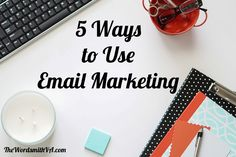 Many companies have yet to realize the marketing potential they have at their fingertips when it comes to email. Here are five ways to use email marketing.