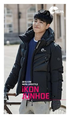 Junhoe for iKON x NEPA F/W 2015© NEPA Cnblue, Btob, Men In Tight Pants, Winner Ikon, Koo Jun Hoe, Ikon Debut, Yoo Ah In, Asian Love, Kim Hanbin